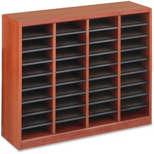 SAF 9321CY Safco E-Z Stor Light Wood Literature Organizers SAF9321CY