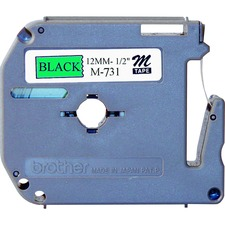 BRT M731 Brother P-touch Nonlaminated M Srs Tape Cartridge BRTM731