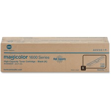 Konica Minolta High Capacity Black Toner Cartridge for Magicolor 1600