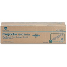 Konica Minolta High Capacity Cyan Toner Cartridge for Magicolor 1600