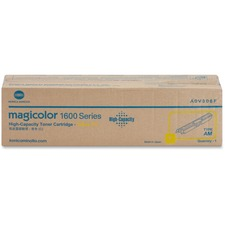 Konica Minolta High Capacity Yellow Toner Cartridge for Magicolor 1600