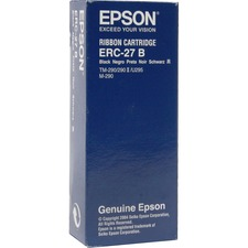 EPS ERC27B Epson ERC-27B Black Printer Ribbon EPSERC27B
