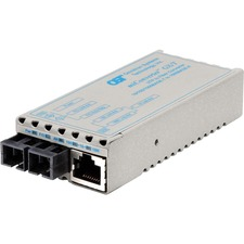 Omnitron miConverter GX/T Gigibit Ethernet to Fiber Media Converter