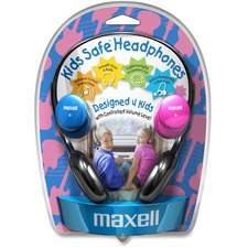MAX 190338 Maxell Kids Safe Headphones MAX190338