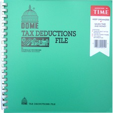 DOM 912 Dome Publishing Tax Deduction File Book DOM912