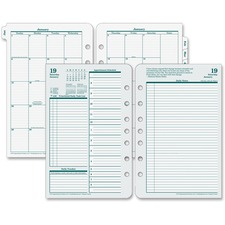 FDP 35419 Franklin Original Full Year Daily Planning Pages FDP35419