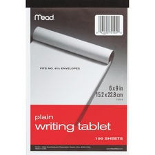 MEA 70104 Mead Plain Writing Tablet MEA70104