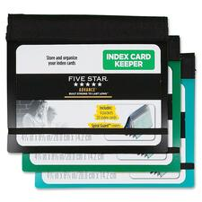 MEA 50644 Mead Five Star Advance 3x5 Index Card Keeper MEA50644