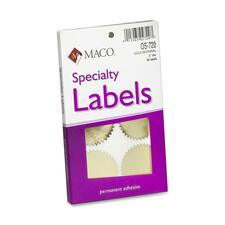 MAC OS720 Maco Notary Gold Foil Seals MACOS720