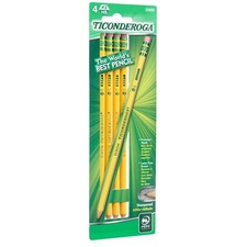 DIX 33882 Dixon Ticonderoga No. 2 Soft Pencils DIX33882