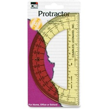 "LEO 80600 Charles Leonard 6"" Open Center Protractor LEO80600"