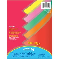 PAC 101049 Pacon Array Bright Assorted Bond Paper PAC101049