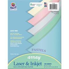 PAC 101048 Pacon Array Colored Bond Paper PAC101048