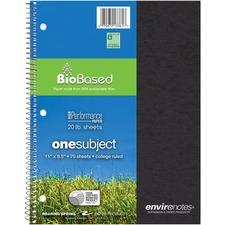 ROA 13361 Roaring Spring Single Sub. Composition Notebooks ROA13361
