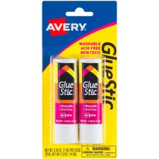 AVE 00171 Avery Permanent Glue Stics AVE00171