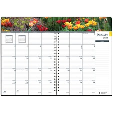 HOD 264632 House of Doolittle Earthscapes Gardens of the World Ruled Monthly Planner HOD264632
