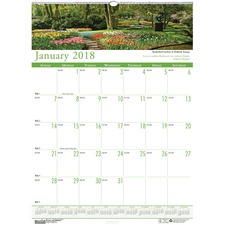 HOD 302 Doolittle Earthscapes Gardens Wall Calendar HOD302