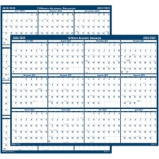 HOD 395 Doolittle Academic July-June Wall Calendar HOD395
