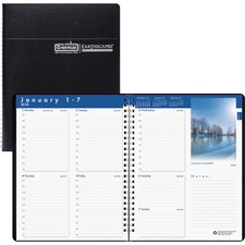 HOD 27992 House of Doolittle Earthscapes Weekly Appointment Book HOD27992