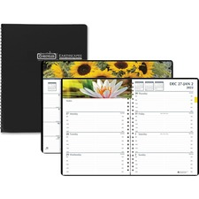 HOD 294632 House of Doolittle Earthscapes Gardens of the World Weekly/Monthly Planner HOD294632