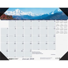 HOD 1766 Doolittle EarthScapes Mountains Desk Pad HOD1766