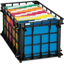 OXF 27570 Oxford Stackable File Crate OXF27570