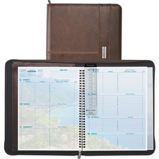 DTM 88464 Day-Timer Coastlines Complete Organizer Notebook DTM88464