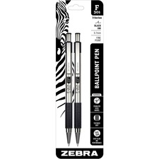 ZEB 27112 Zebra BCA F-301 Stainless Steel Ballpoint Pens ZEB27112