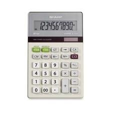 SHR EL334TB Sharp EL334TB Dual Power Portable Calculator  SHREL334TB