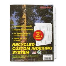 KLF 23259 Kleer-Fax Custom Unpunched Laser Indexing System KLF23259