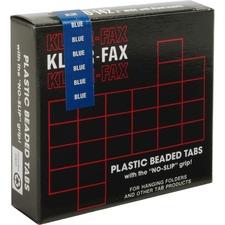 KLF KLE01425 Kleer-Fax 1/5 Cut Hanging Folder Tabs KLFKLE01425