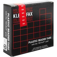 KLF KLE01426 Kleer-Fax 1/5 Cut Hanging Folder Tabs KLFKLE01426