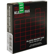 KLF KLE01433 Kleer-Fax 1/3 Cut Hanging Folder Tabs KLFKLE01433