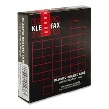KLF KLE01436 Kleer-Fax 1/3 Cut Hanging Folder Tabs KLFKLE01436
