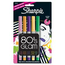 SAN 33120 Sanford Sharpie Limited Ed. 80s Glam Perm Markers SAN33120