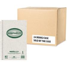 ROA 12001 Roaring Spring Environotes Wirebnd 1-Sub Notebook ROA12001