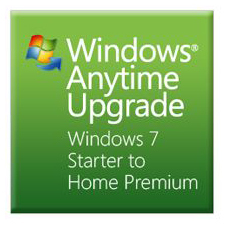UPG WINDOWS ANYTIME/W7 STARTER TO HOME PREMIUM UPGRADE