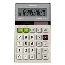SHR EL377TB Sharp EL377TB LCD Pocket Calculator SHREL377TB