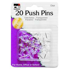 LEO 20210 Charles Leonard Push Pins LEO20210