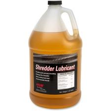HSM Shredder Lubricant - Gallon Bottle - 4 quart - Amber