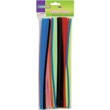 CKC 711001 Chenille Kraft Jumbo Assorted Chenille Stems CKC711001