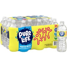 NLE 101264 Nestle Pure Life Purified Bottled Water NLE101264