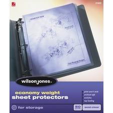 WLJ 21422 Acco/Wilson Jones Econ Wt. Top-load Sht Protectors WLJ21422