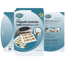 MAG PMBC805113 Magna Card Magnetic Business Card Sheets MAGPMBC805113