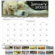 HOD 3731 Doolittle Earthscapes Wildlife Wall Calendars HOD3731