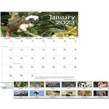 HOD 3731 Doolittle Earthscapes Wildlife Wall Calendars HOD3731