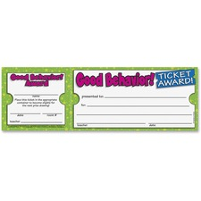 SHS 043965209X Scholastic Res. Good Behavior Ticket Awards SHS043965209X