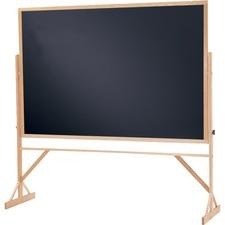QRT WTR406810 Quartet Black Chalkboard 2-in-1 Reversible Easel QRTWTR406810
