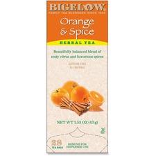 BTC 10398 Bigelow Orange/Spice Herbal Tea BTC10398