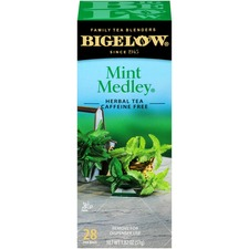 BTC 10393 Bigelow Mint Medley Herbal Tea BTC10393